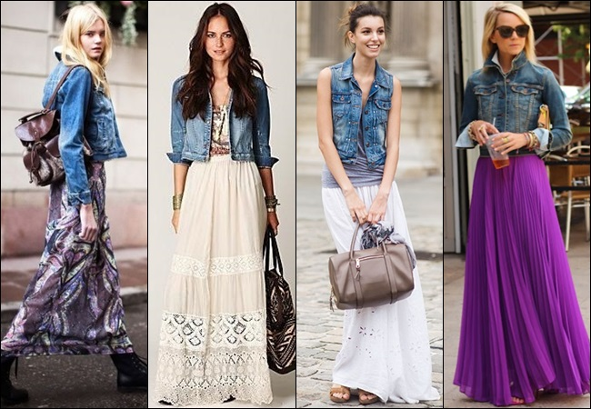 Maxi-Skirt-with-Denim-Jacket