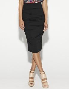 Nicole Miller Sandy Ponte Skirt