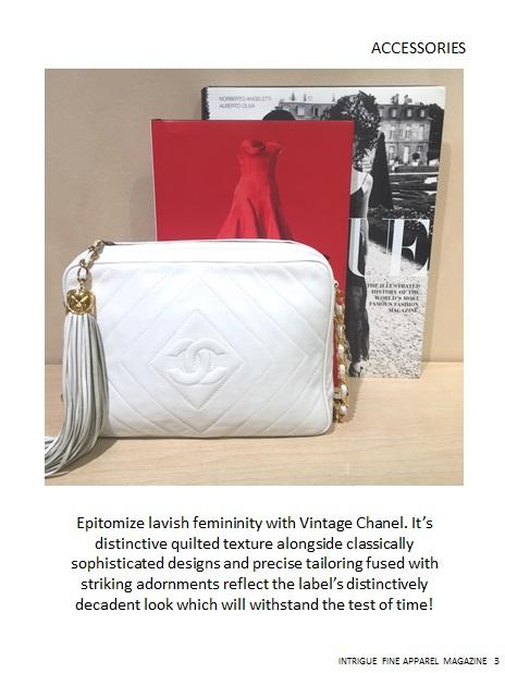 Vintage Chanel Mag